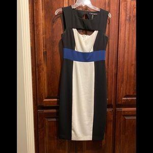 BCBG color block dress